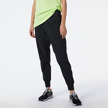 New Balance NB All Terrain Crop Pant, WP11590BK image number null