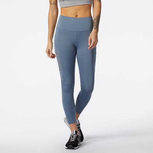 New Balance Mujer NB All Terrain Legging - Grey, Grey