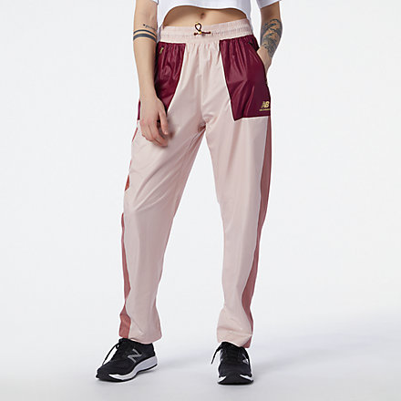 NB NB Athletics Higher Learning Wind Pant, WP13500OPK image number null