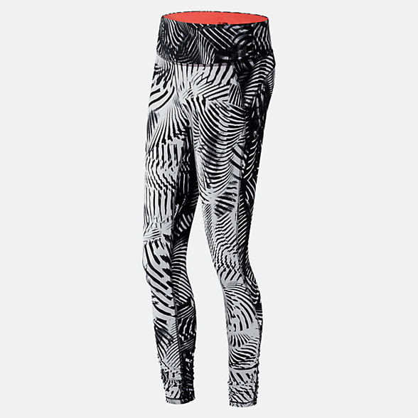 New Balance Printed Performance Tight, WP61145BKW
