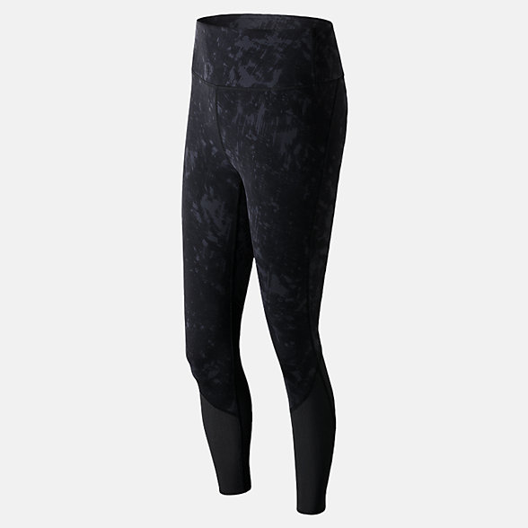 New Balance Elixir Printed Tight, WP71466ODF
