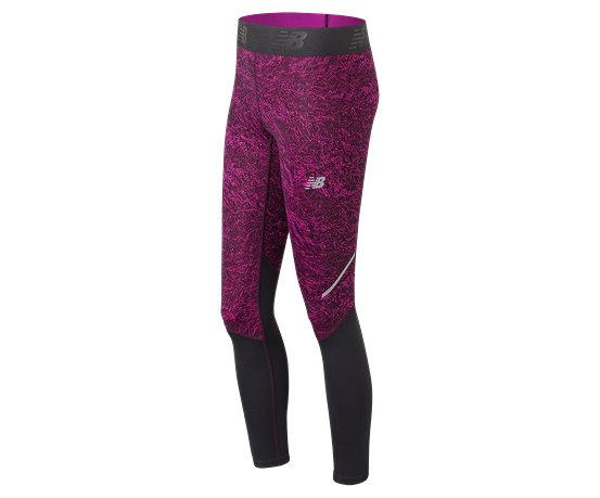 52b0542912f69 Women's Accelerate Printed Tights | New Balance