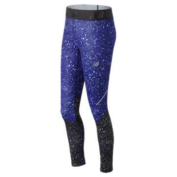 New Balance Accelerate Printed Tight, Tempest Crystallized