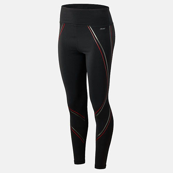 New Balance High Rise Transform Printed Tight, WP73144BRD
