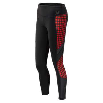 New Balance Transform Pocket Tight, Black with Red