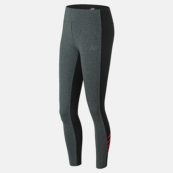 New Balance NB Athletics Legging, WP73537HRC