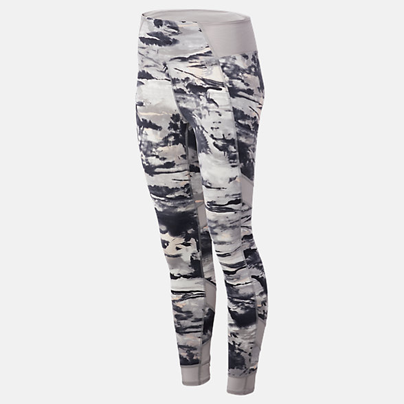 New Balance Printed Evolve Tight, WP81458BGR