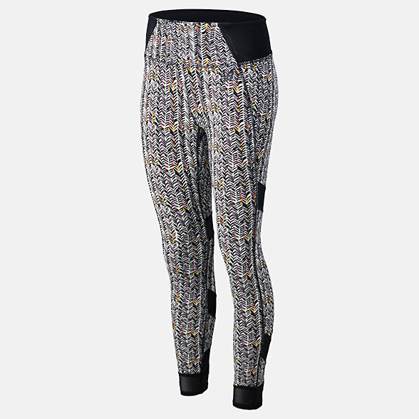 New Balance Printed Evolve Tight, WP81458BKW