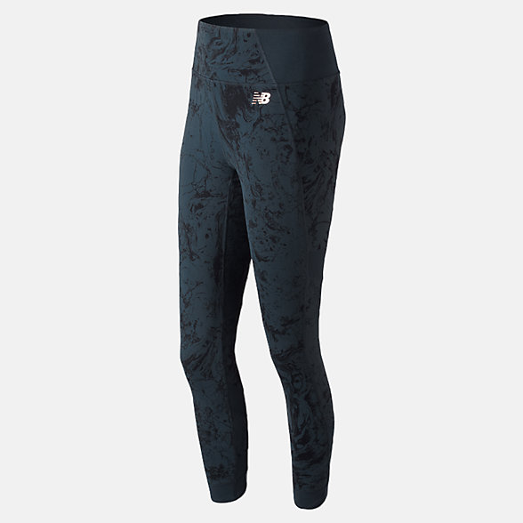 New Balance Printed Evolve Tight, WP81458GXY