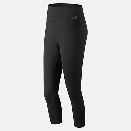 New Balance Pantalon court à taille haute et motifs Transform 2.0, WP83114BK image number null