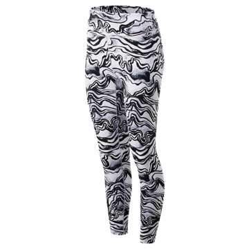 New Balance Printed High Rise Transform Crop 2.0, Violet Glo