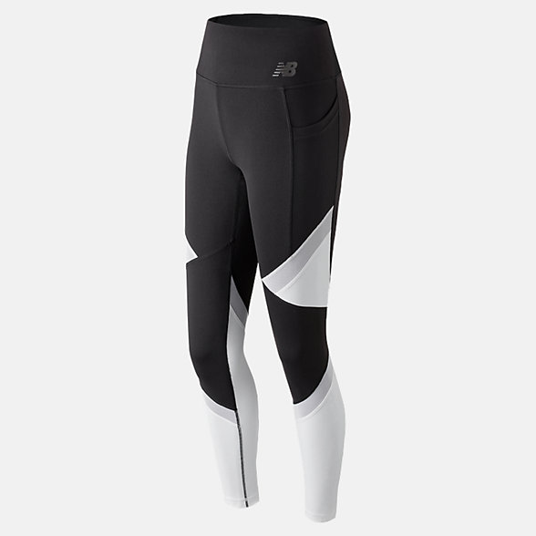 NB High Rise Transform Pocket Tight, WP83142BKW