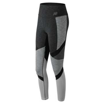 New Balance High Rise Transform Pocket Tight, Heather Charcoal
