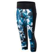 New Balance Printed Impact Capri, North Sea