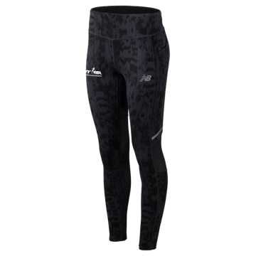 New Balance RFL Printed Impact Tight, Iodine Violet