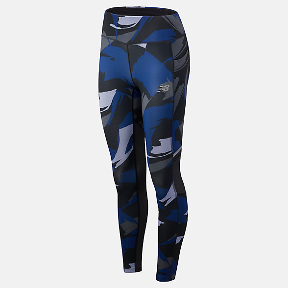 New Balance Printed Impact Tight, WP83229BLP