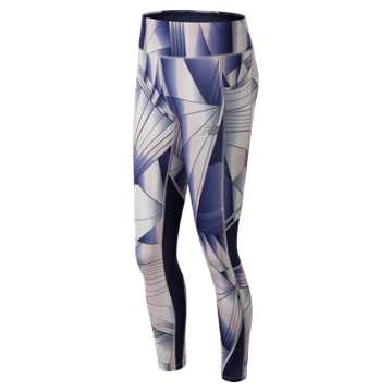 New Balance Printed Impact Tight, Conch Shell
