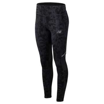 New Balance Printed Impact Tight, Iodine Violet