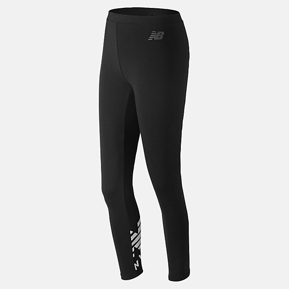 New Balance Essentials Cotton Legging, WP83554BK