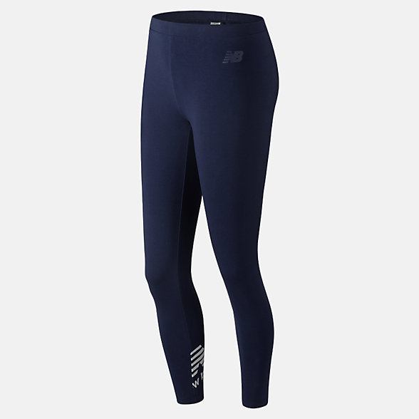 New Balance Essentials Cotton Legging, WP83554PGM