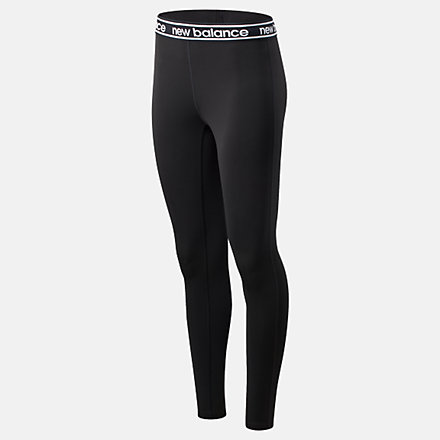 New Balance Relentless Colorblock Tight, WP91134BKW image number null