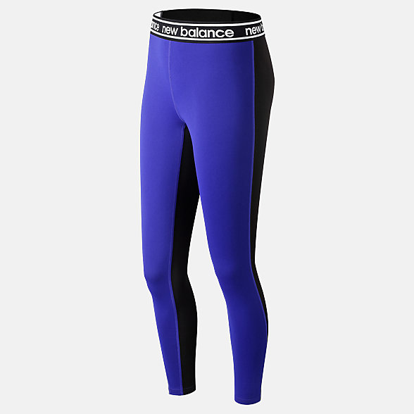 New Balance Relentless Colorblock Tight, WP91134UVB