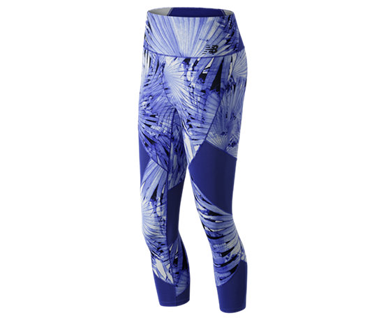 07af6d2d75f02 Women's Printed Feel The Cool Crop WP91144 - New Balance