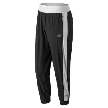 New Balance Impact Jogger, Black with White