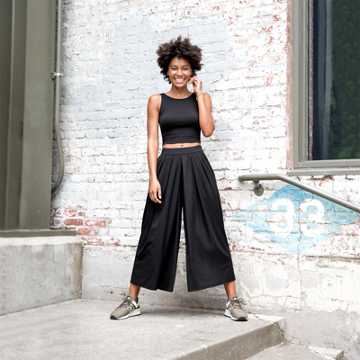 New Balance Well Being Culotte, Black