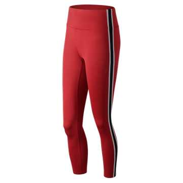New Balance NB Athletics Select Track Tight, Team Red Inline