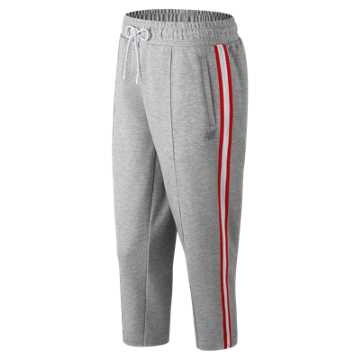 New Balance NB Athletics Select Cropped Track Pant, Athletic Grey