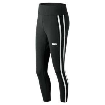 New Balance NB Athletics Track Legging, Black Multi