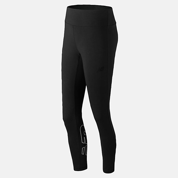 New Balance NB Athletics Legging, WP91554BKW