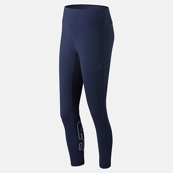 New Balance NB Athletics Legging, WP91554PGM