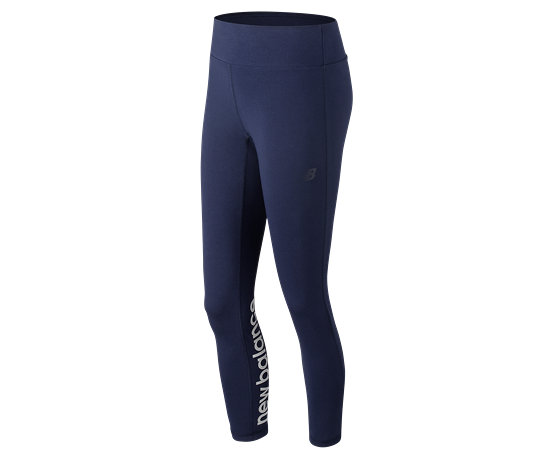 1290aa4b52d99 NB NB Athletics Legging, Pigment with White