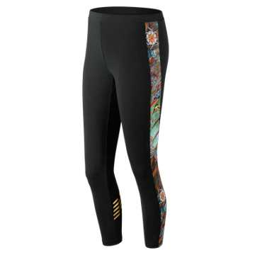 New Balance Sweet Nectar Legging, Black Multi