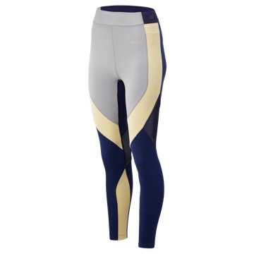 New Balance Reclaim Hybrid Tight, Sun Glow with Pigment Heather