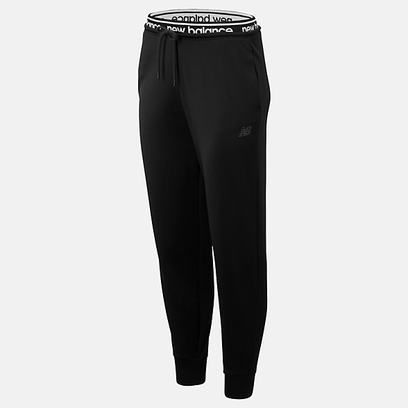 NB Pantaloni da tuta Relentless Fleece, WP93140BK