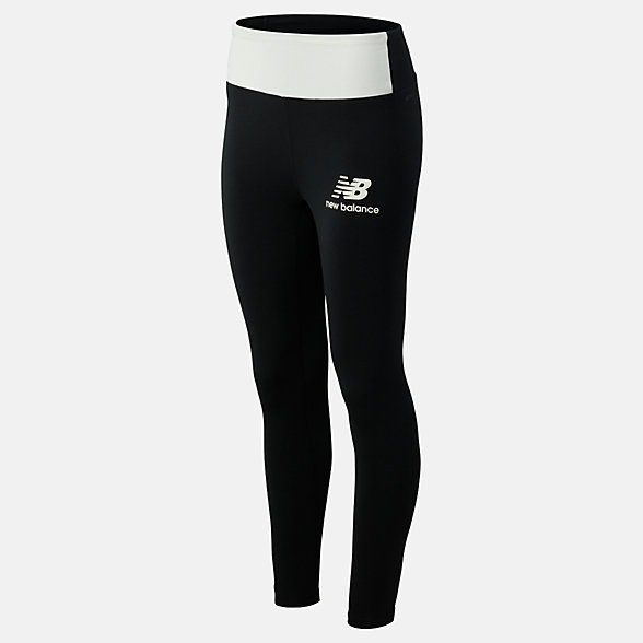 NB Relentless Highrise Blocked Leggings, WP93169BKW