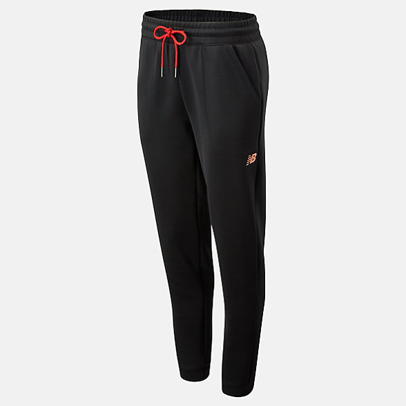 New Balance Pantalon de jogging Glow Cheetah Go, WP93180BK