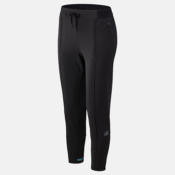 New Balance Pantalon de jogging court Q Speed Run, WP93216BK