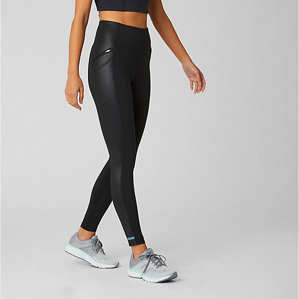 NB Leggings Impact Run Heat, WP93221BK