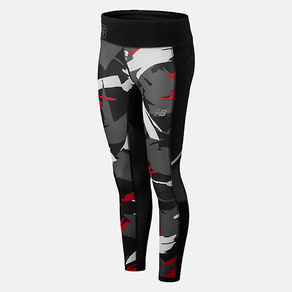 NB LDN Printed Impact Leggings, WP93229DVLR