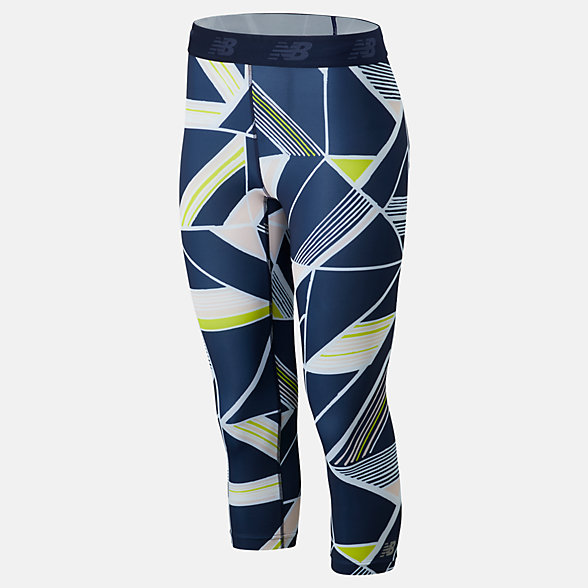 New Balance Printed Accelerate Capri, WP93280SYE