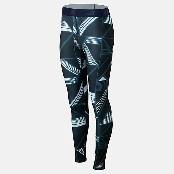 NB Printed Accelerate Leggings, WP93284OBE