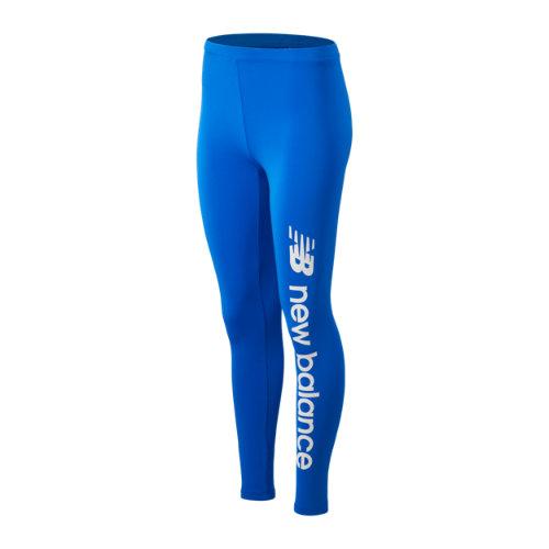 New Balance Women's Sport Style Optiks Legging - Blue, Blue