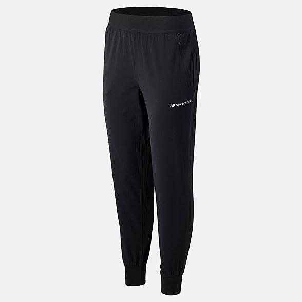 New Balance Sport Style Select Woven Pant, WP93514BK