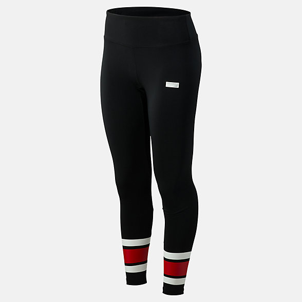 New Balance NB Athletics Stadium Legging, WP93521BK