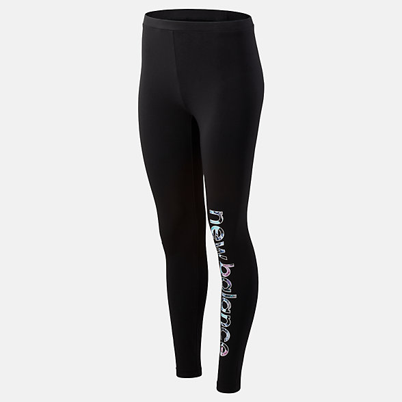 New Balance Essentials In Bloom Legging, WP93524BK