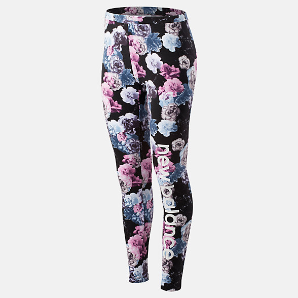 New Balance Essentials Printed In Bloom Legging, WP93556WNS